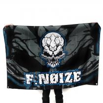 F.Noize Vlag Blauw Grijs