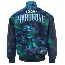 100% Hardcore Training Jacket Night skull