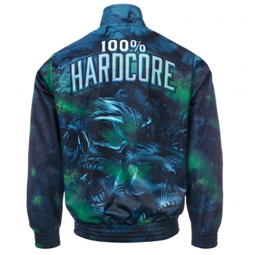 100% Hardcore Training Jacket Night skull