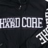 100% Hardcore Windbreaker center bla/whi