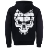 UPTEMPO Mask hooded zipper grenade