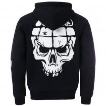 UPTEMPO Mask hooded zipper grenade