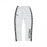 100% Hardcore Trainings pants logo white