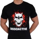 Dissoactive kaak naar de tyfus t shirt