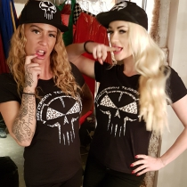 Rotterdam Terror Corps Leopard Lady T-shirt