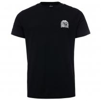 100% Hardcore T shirt taped black