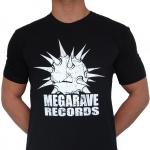 Megarave 2019 t shirt 100% Hardcore