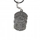 100% Hardcore Metal Keychain united
