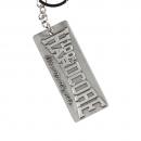 100% Hardcore Metal Keychain the brand