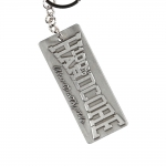 100% Hardcore Metal Keychain the brand
