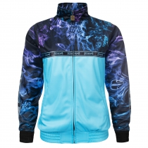 100% Hardcore Trainings jacket fog blue