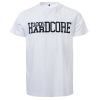 100% Hardcore Shortsleeve United white