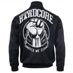 100% Hardcore Trainings jacket united