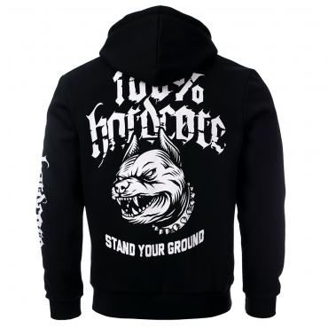 100% HC HOODED ZIPPER Stand Your Ground
