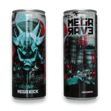 Megarave - Megakick energy drink