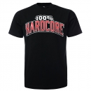 100% Hardcore T shirt the brand