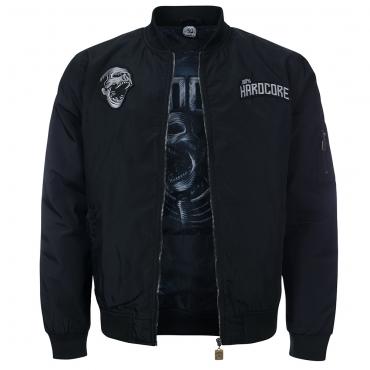 100% Hardcore Bomber Jacket Deadly Scream