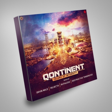 The Qontinent island of intensity 4cd