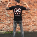 System Overload t shirt The devil in eye