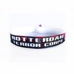 RTC Festival band red/black/white