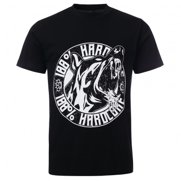 100% Hardcore T shirt bloodhound