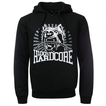 100% HARDCORE Hooded Dog 1