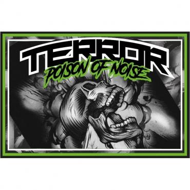 TERROR Banner Buzzer Skull