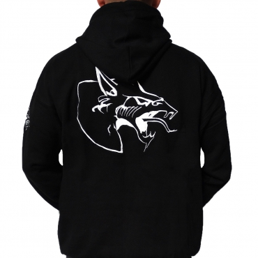 Neophyte 09 hooded stitched black
