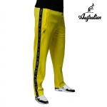 Australian pants Triacetat bright yellow