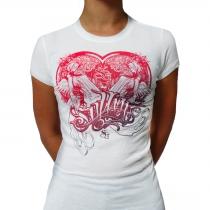 White Sullen Heartness girl shirt