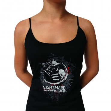 Black Nightmare Forest spag top