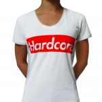 Supreme Hardcore T Shirt White
