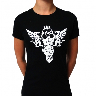Ground Zero 5th gasmask ladyshirt
