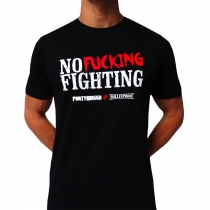 Partyraiser 'No fucking fighting' t shirt