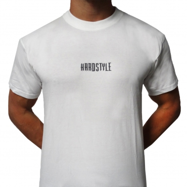 White Hardstyle Sleeveless shirt - one size fits all