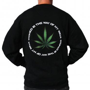 Black Dr.Z-Vago sweater 'printed'