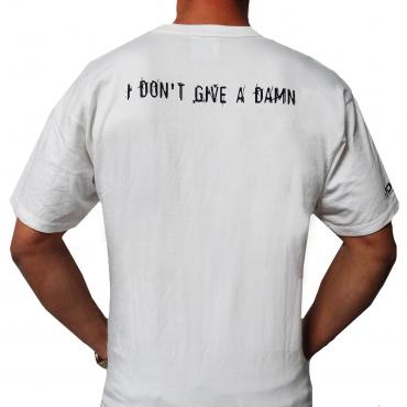 E-noid White 'Damn' Shortsleeve