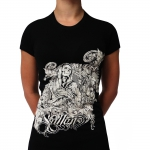 Black Sullen Visceral lady shirt
