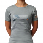 Grey Urban lady shortsleeve - one size