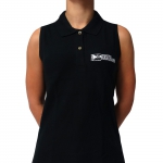 Black Trax.ladypolo - Badge logo st