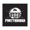 Partyraiser carsticker