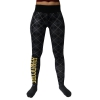 100% Hardcore lady Legging check bl/yel