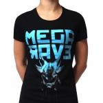 Megarave 2018 Lady Partyshirt