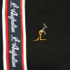 Australian pant Triacetat bies Red/Black