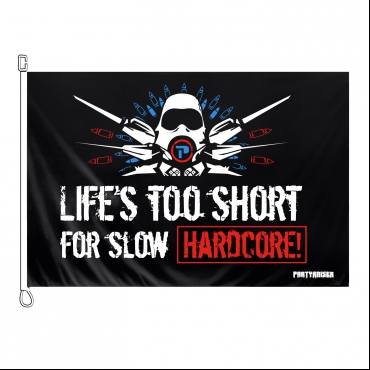 Partyraiser Flag Life's too short for sl