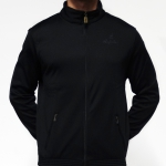 Australian 1 color jacket triacetat blac