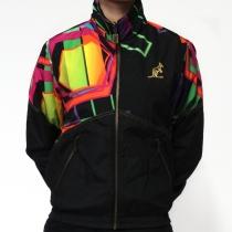Australian jacket reversable smash fabric