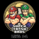 Super Trash Bros - Level 1-1