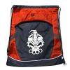 DRS Deluxe string bag grey/red