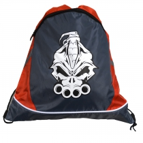 DRS Deluxe String Bag Grey/ Red